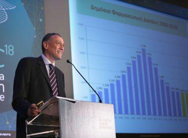 Ομιλία: Μάρκος Ολλανδέζος, Επιστημονικός Διευθυντής, Πανελλήνια Ένωση Φαρμακοβιομηχανίας (ΠΕΦ) - Τίτλος Ομιλίας: «Ελληνική φαρμακοβιομηχανία και νέα φαρμακευτική πολιτική»
