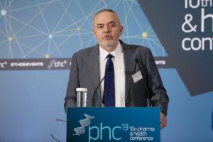 Θεσμικός χαιρετισμός: Ολύμπιος Παπαδημητρίου, Πρόεδρος, Σύνδεσμος Φαρμακευτικών Επιχειρήσεων Ελλάδος (ΣΦΕΕ)