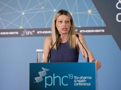 Θεσμικός χαιρετισμός: Φαίη Κοσμοπούλου, Γενική Διευθύντρια, Πανελλήνια Ένωση Φαρμακοβιομηχανίας (ΠΕΦ)