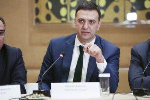 Κλειστή συνάντηση εργασίας: Βασίλης Κικίλιας, Υπουργός Υγείας